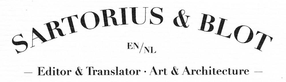 Sartorius blot sartorius and blot editing and translation fandeluxe Choice Image